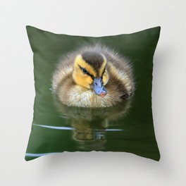 Floating Fluff Throw Pillow