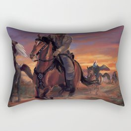 Outlaws Rectangular Pillow