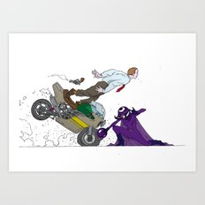 kick ass  Art Print