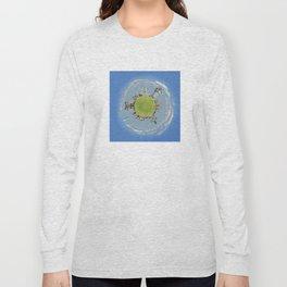 drobeta turnu severin tiny planet Long Sleeve T-shirt