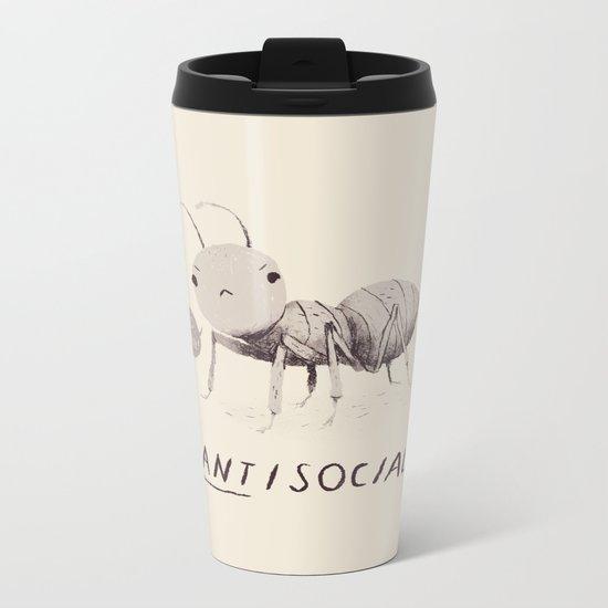 antisocial Metal Travel Mug