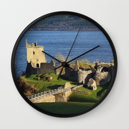 Urquhart Castle - Scotland Wall Clock