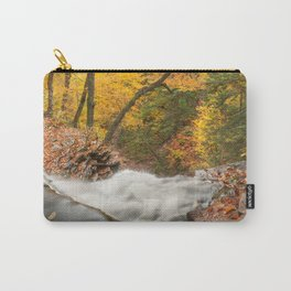 Autumn Waterfall Precipice Carry-All Pouch