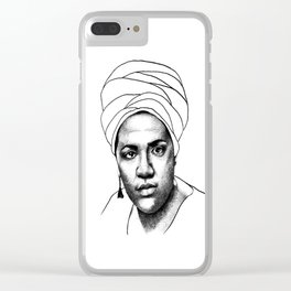 Audre Lorde Clear iPhone Case