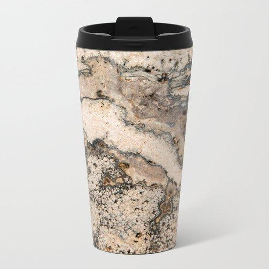 MARBLED Metal Travel Mug