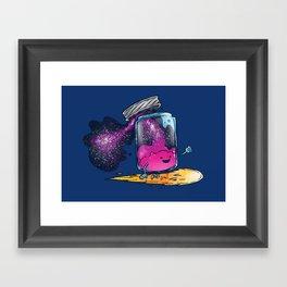 The Cosmic Jam Framed Art Print