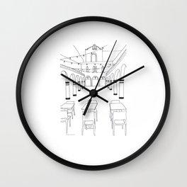 HanaHaus in Palo Alto Wall Clock