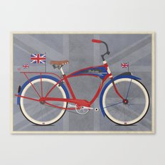 British Bicycle Canvas Print