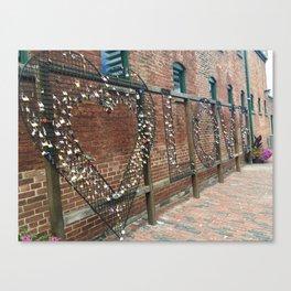 Love Locked Up Canvas Print