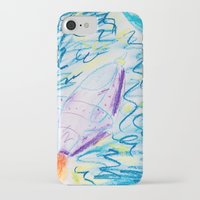 spaceship iPhone & iPod Cases featuring Spaceship by SorinaBogiu