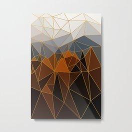 Autumn abstract landscape 4 Metal Print