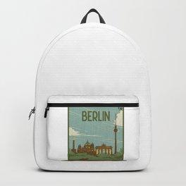 Berlin City Of Germany Backpack