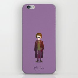 Heath Ledger - Joker iPhone Skin