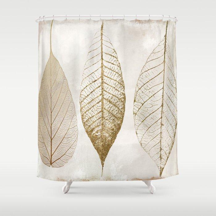Fallen Gold II Shower Curtain