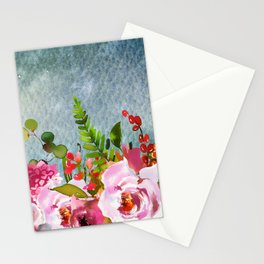 Flowers bouquet 91 Stationery Cards