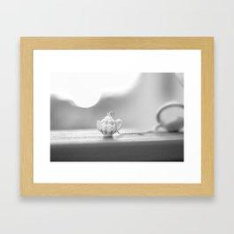 mini teapot Framed Art Print