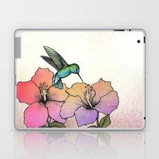 Hummingbird and Hibiscus Laptop & iPad Skin