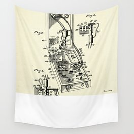 Photoelectric Photometer-1947 Wall Tapestry