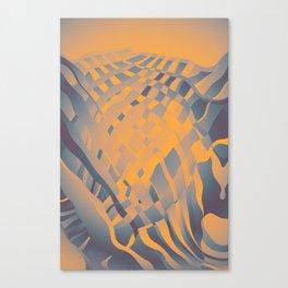 Nuclear Scarf Canvas Print