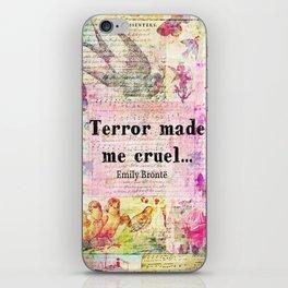 Emily Bronte quote  iPhone Skin