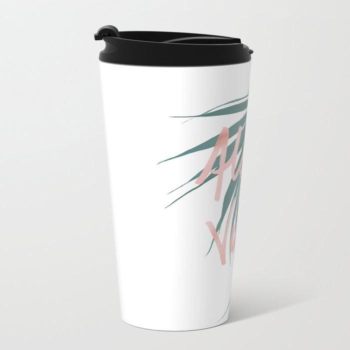 Aloha Vibes Travel Mug