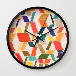 The X Wall Clock