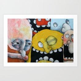 Woohoo Art Print