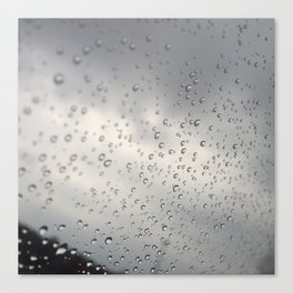 windshield ran Canvas Print