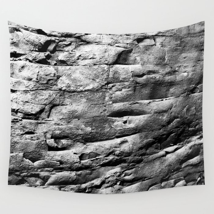 Rock Wall Wall Tapestry