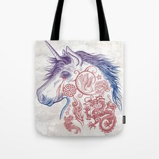 War Unicorn Tote Bag