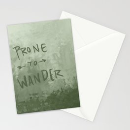 Prone to Wander Stationery Cards