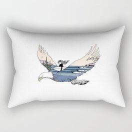 """ Flying High "" Rectangular Pillow"