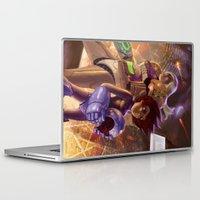 megaman Laptop & iPad Skins featuring Megaman X Samus by ImmarArt