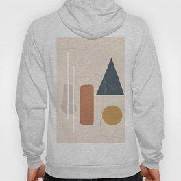 Minimal Abstract Shapes No.55 Hoody