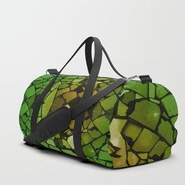 Mosaic - Green Parrot Duffle Bag