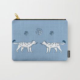 snow leopard pals Carry-All Pouch