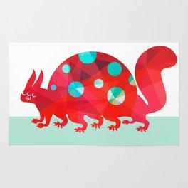 Oddities 2 - Tortoisquirrel Rug