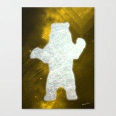 Space Bear Canvas Print