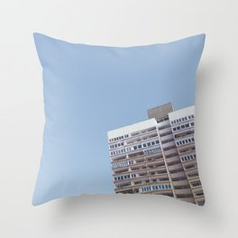 on top of pastels Throw Pillow