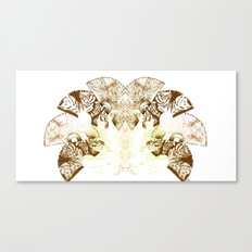 Insecte Eventail II Canvas Print