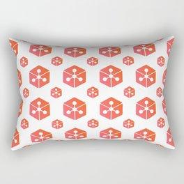 Lunyr - Crypto Fashion Art (Medium) Rectangular Pillow