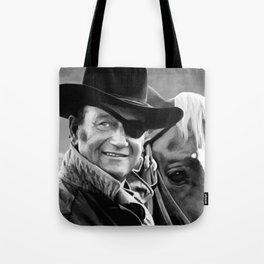 John Wayne @ True Grit #1 Tote Bag