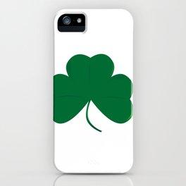 Lucky Irish Shamrock iPhone Case