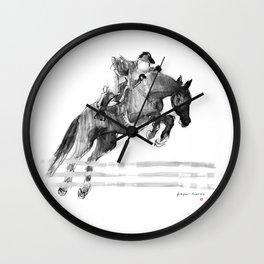 Horse (Jumper) Wall Clock