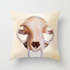 Felidae Throw Pillow