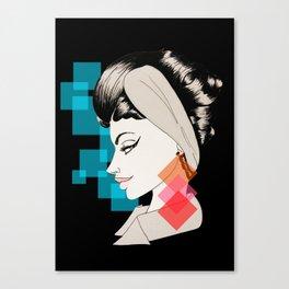 hey, you Canvas Print
