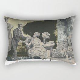 L'illusionniste Rectangular Pillow