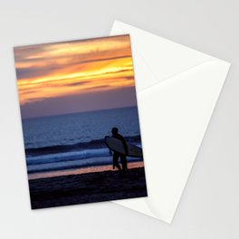 Solo Surfer Stationery Cards