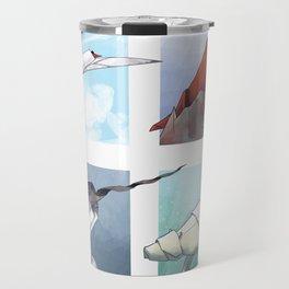 Arctic Origami Travel Mug