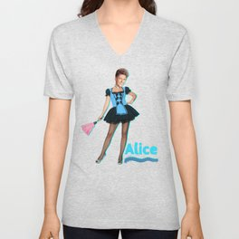 The Brady Bunch- Sexy Alice Unisex V-Neck